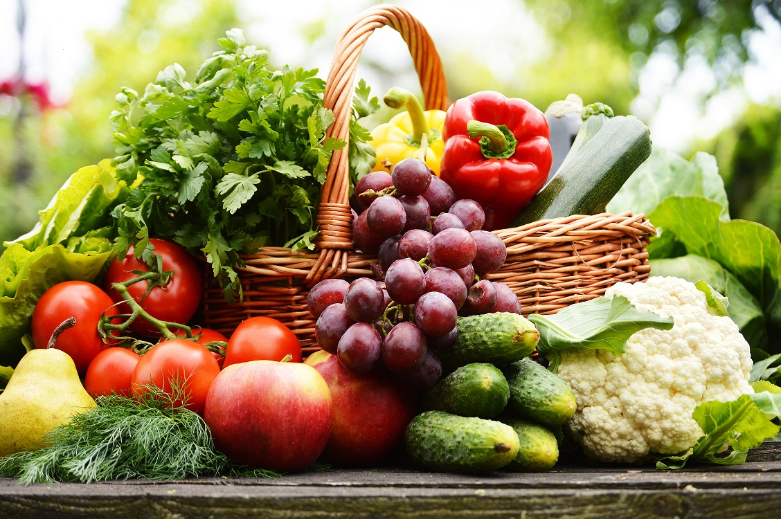 Organic food equals good health.